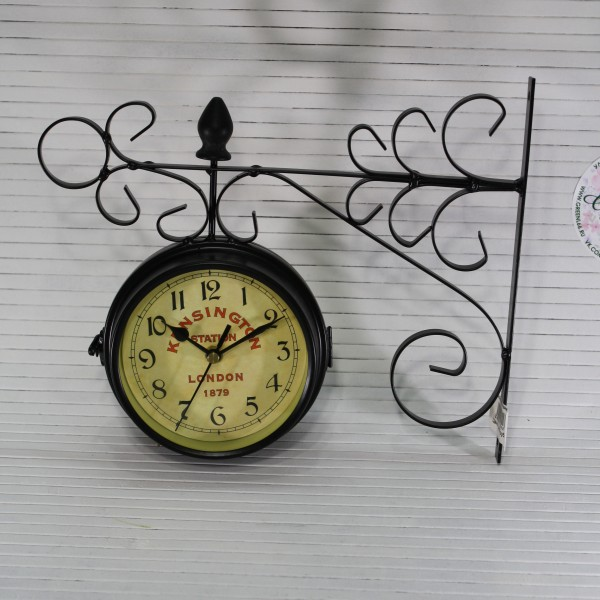Часы на кронштейне 22 см