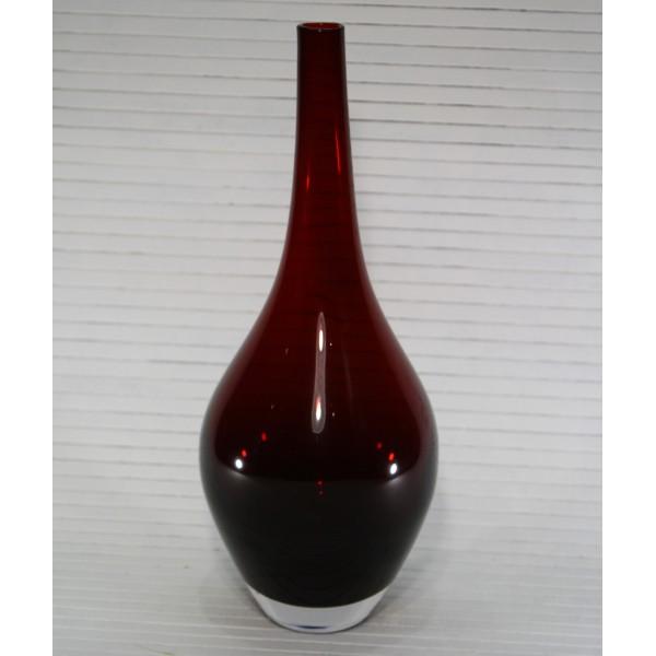 """Ваза """"Красное стекло"""" 31,5 см"""